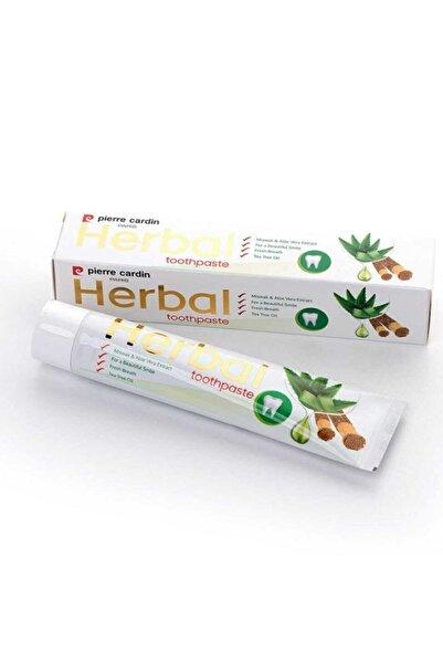 Pierre Cardin Aloe Vera & Misvak & Çay Ağacı Özlü Bitkisel Diş Macunu - 75 Ml