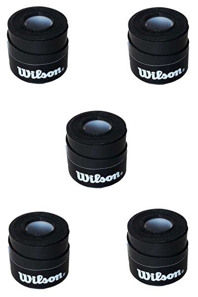 Wilson 5 Adet Comfort Bowl O'grips Tekli Siyah Grip Kgm-siyah5