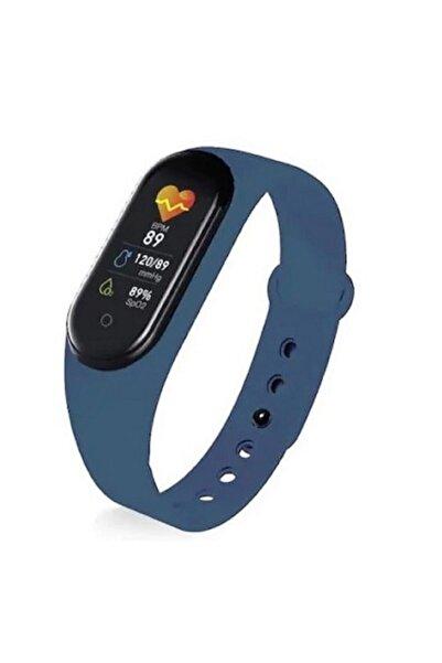 Kingboss Smart M5 Akıllı Bileklik Saat Arama Ve Mesaj Bildirim Watch Band Kalp Ritim Koşu Spor Ateş Ölçer
