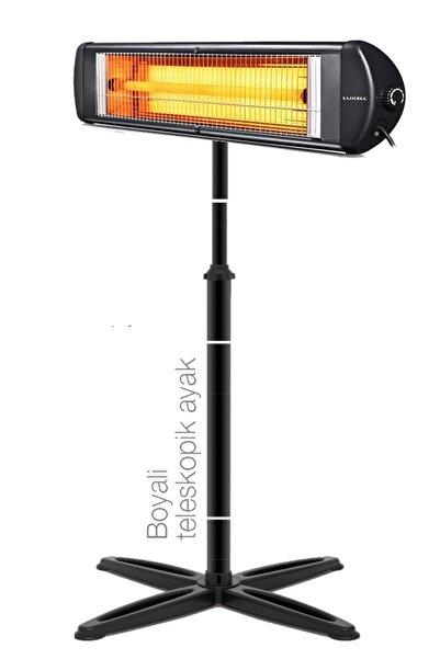 KUMTEL Luxell Blackline Infrared Elektrikli Soba Isıtıcı