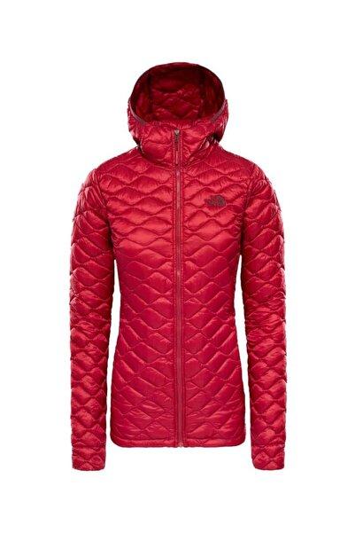 THE NORTH FACE Kadın Kırmızı Mont  Thermoball Hooded Insulated
