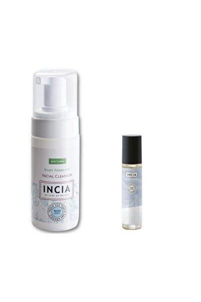 Incia Yüz Temizleme Köpüğü +yağlı (sebum) Cilt Serumu Set Hayalavm066