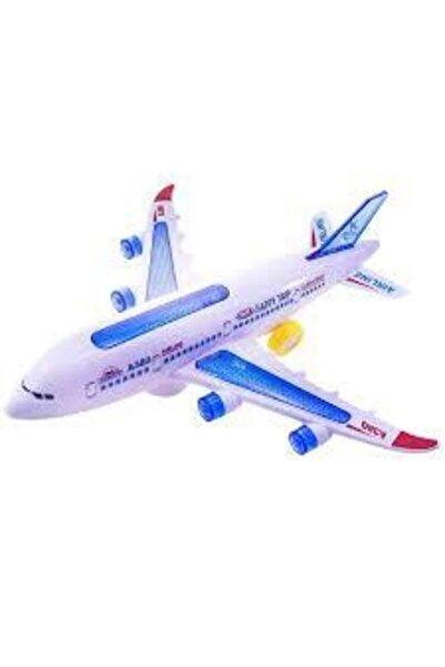 Happy Toys Hareketli Pilli Işıklı Aırbus Uçak