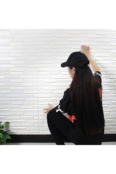 Renkli Duvarlar Nw55 Beyaz Opak Arkası Yapışkanlı Esnek Silinebilir Duvar Paneli Duvar Kağıdı