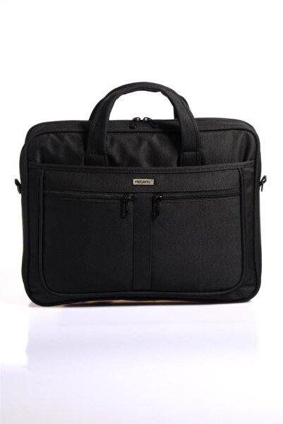 Recaro Siyah Unısex Laptop Bölmeli Kumaş Evrak Çantası Rcr280