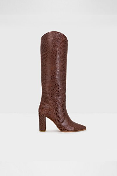 Aldo Kadın Kahverengi Topuklu Çizme