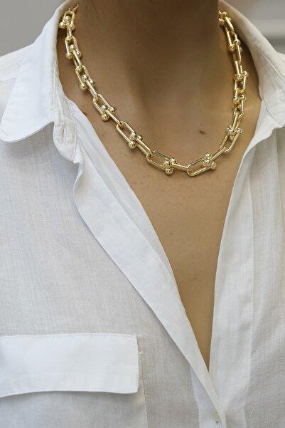 Marjin Kadın Altın Blanca Kolyealtın