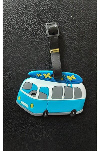 MAYA ArtDeco Çanta Valiz Etiketi Minibüs 12 cm