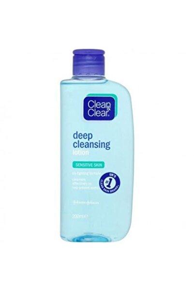 Clean & Clear Clean Clear Makyaj Temizleyici Losyon Hassas Cilt 200 ml