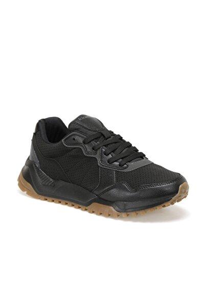Kinetix Cynerıc Siyah Erkek Kalın Taban Sneaker Spor Ayakkabı