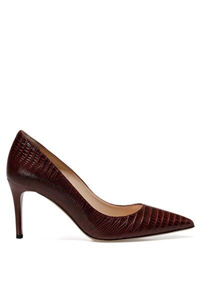 Nine West Sunnyday2 Bordo Kadın Gova Ayakkabı