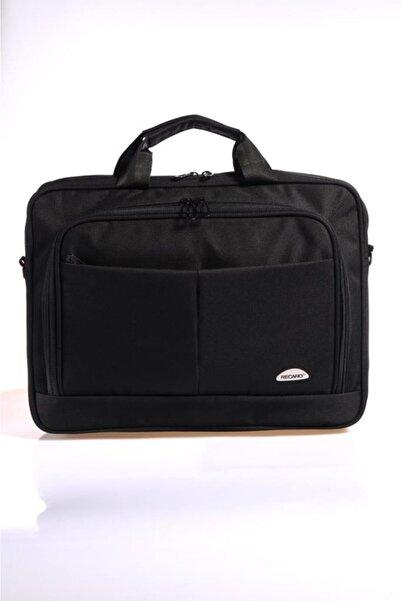 Recaro Siyah Unısex Laptop Bölmeli Evrak Çantası Rcr250