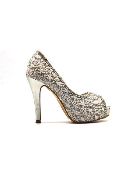 Guja F1007-44 Kadın Abiye Yüksek Topuk Ayakkabı
