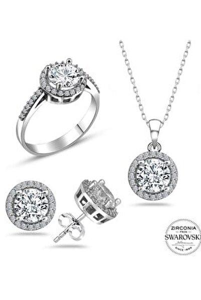 Swarovski Gümüş Set ve Takım