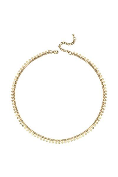 Luzdemia Pul Chain Neck - Gold - 40+5 Cm