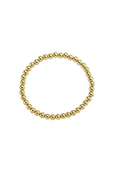 Luzdemia Gz Goldbead Bileklik - 5 Mm - 18cm