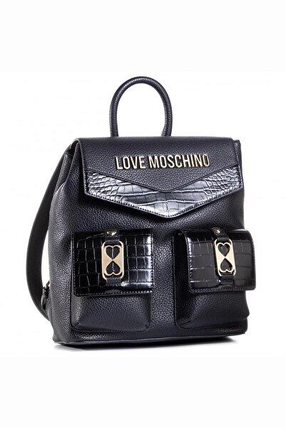Love Moschino Love Moschıno Jc4290pp0bkp1 Siyah Kadın Sırt Çantası
