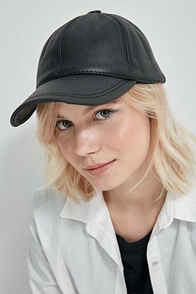 Y-London Kadın Siyah Spor Şapka 13504