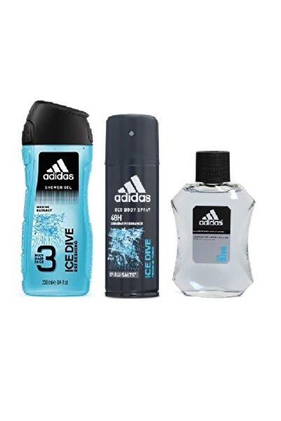 adidas Ice Dive 3'lü Erkek Bakım Seti