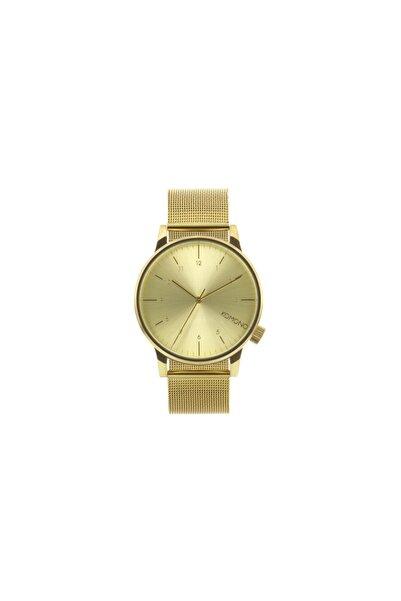 Komono Unisex Sarı Kol Saati KOM-W2351