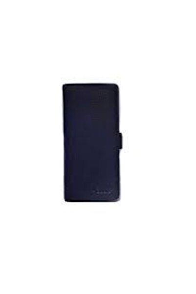 GUARD Unisex Lacivert Telefon Girişli Patlı Deri El Portföy Çanta