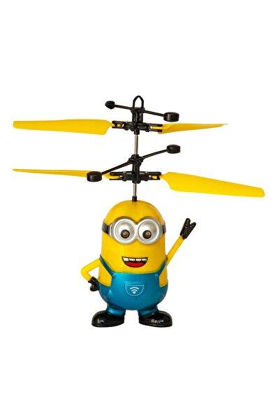 Dopagu Uçan Şarjlı Minion Oyuncak Hareket Sensörlü Mavi