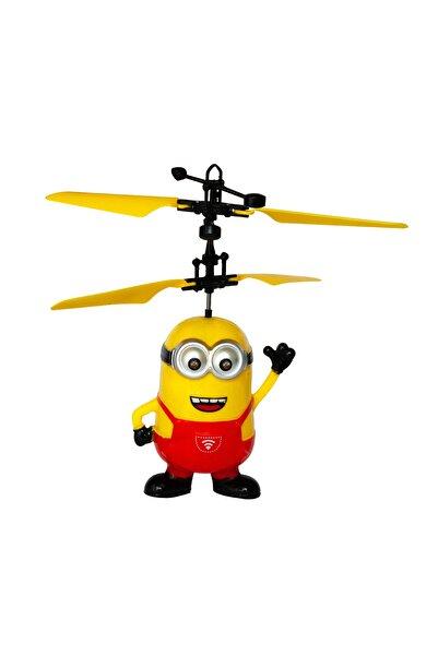 Dopagu Şarjlı Uçan Minion Oyuncak Hareket Sensörlü Kırmızı