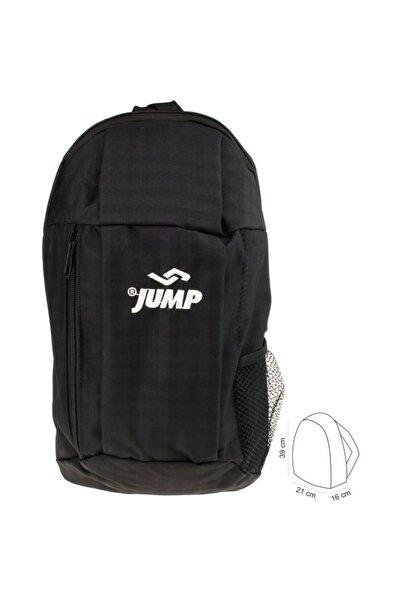 Jump Unisex Siyah Seyehat Gezi Antreman Sırt Çantası 1010