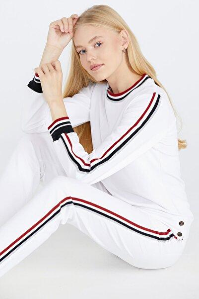 Sementa Kadın Beyaz Eşofman Takımı
