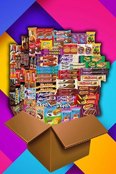 Eti Çoklu Avantaj Çikolata Kek Paket  78 Parça