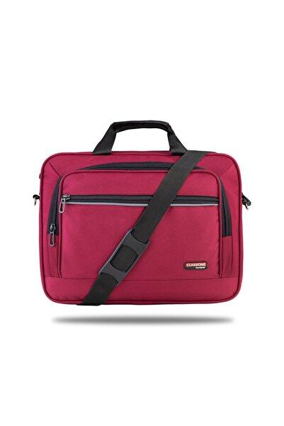 Classone Tl3005 Business Serisi 15.6 Inch Uyumlu Notebook Çantası -bordo