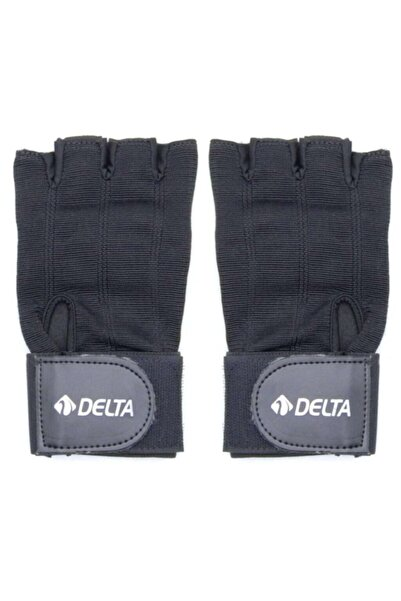 Delta Unisex Siyah Ağırlık Body Dambıl Fitness Eldiveni