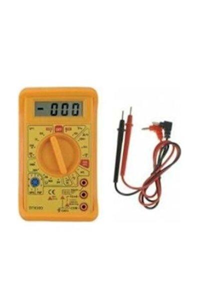 GeSi Dijital Multimetre Ölçü Aleti Dt 830d