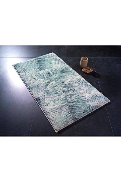 Confetti Jungle Yeşil 57x100cm Banyo Halısı
