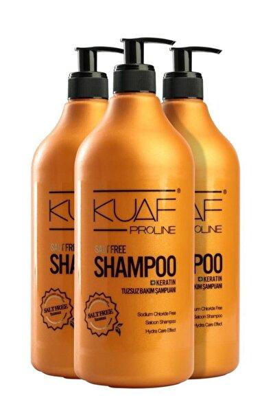 Kuaf Tuzsuz Şampuan 1000 Ml 3lü Ekonomik Paket 8690812113854