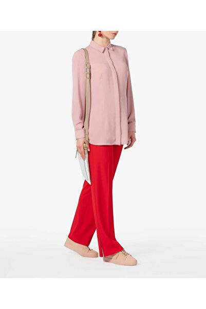 Aker Kadın Pembe Gömlek Bs22103004