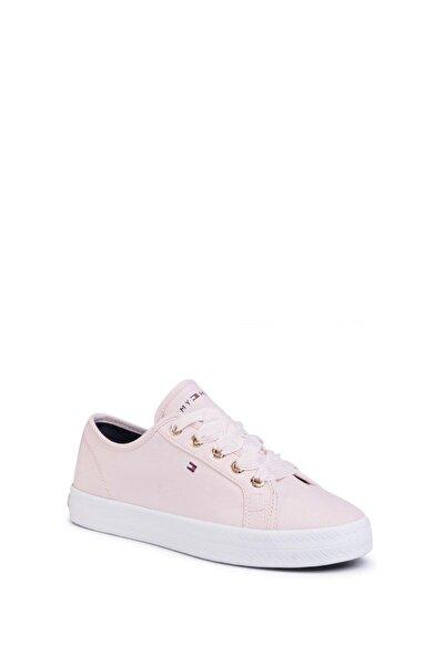 Tommy Hilfiger Kadın Pembe Sneaker Fw0fw04848