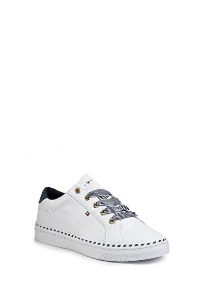 Tommy Hilfiger Kadın Beyaz Sneaker Fw0fw04689