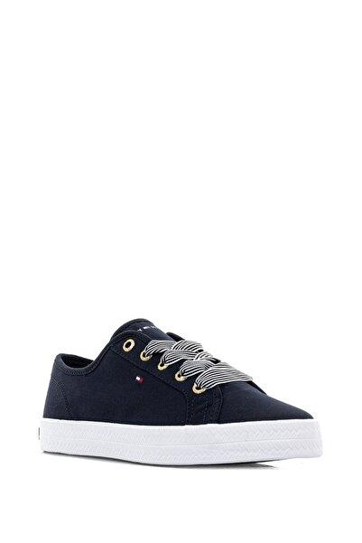 Tommy Hilfiger Kadın Essential Nautical Sneaker Kadın Ayakkabı Fw0fw04848