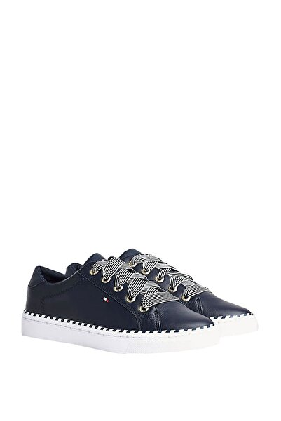Tommy Hilfiger Kadın Nautical Lace Up Sneaker Fw0fw04689