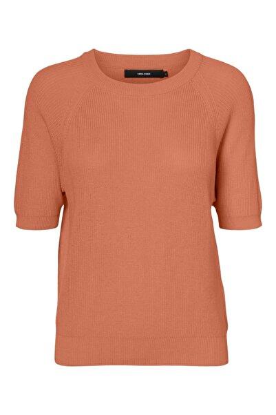 Vero Moda Kadın Kahve Bluz