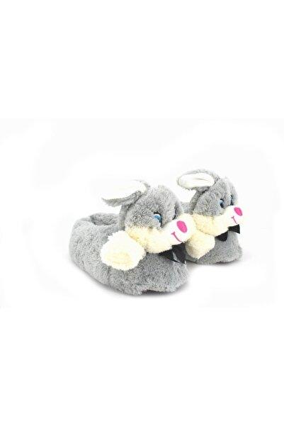 Chirpy Sevimli Gri Tavşan Panduf