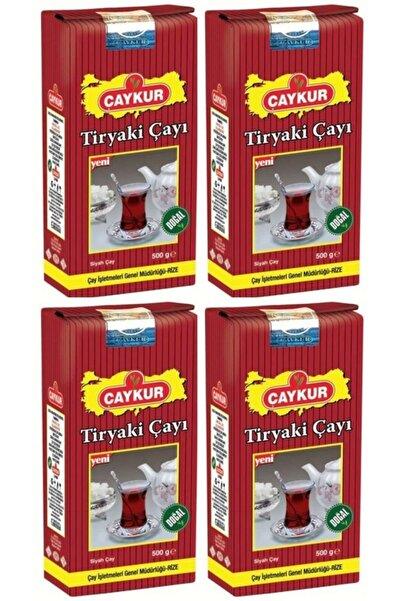 Çaykur Tiryaki Siyah Dökme Çay 500gr 4 Adet