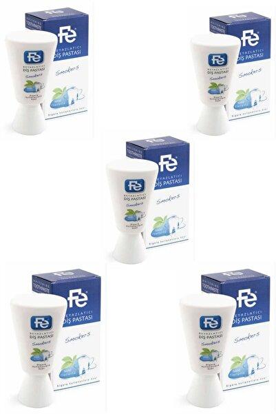 Fe Beyazlatıcı Diş Pastası Smokers (sigara Kullananlara Özel) Nane Florürlü 90 gr 5 Adet