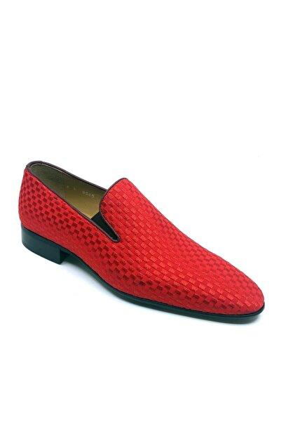 Fosco Nakışlı Kırmızı Klasik Erkek Ayakkabı 1305