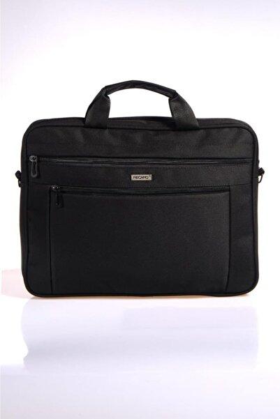 Recaro Unisex Kumaş Laptop Bölmeli Evrak Çantası Siyah Rcr252