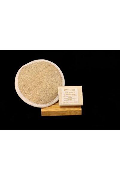 Anatolia Soap Yosun Sabunu Oval Kabak Lifi Selüloit