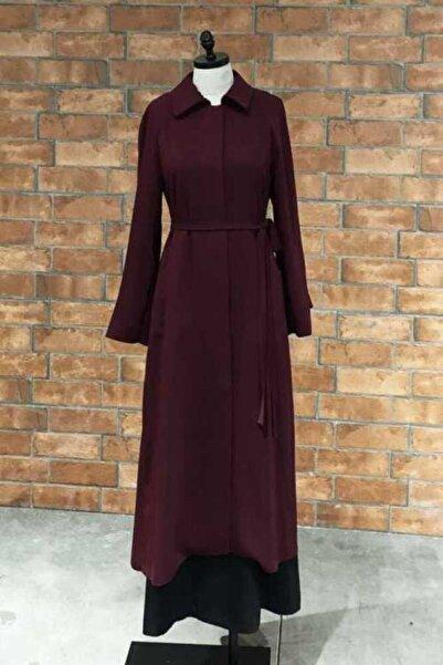 Mimya Düğmeli Uzun Ceket