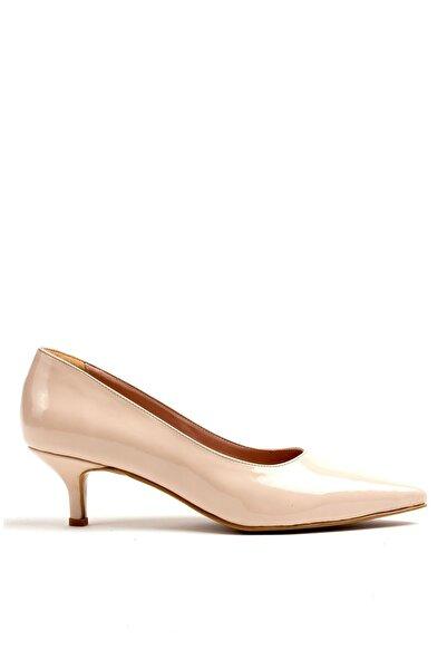 Louis Cardy Kadın Bej Lucy Rugan Topuklu Ayakkabı