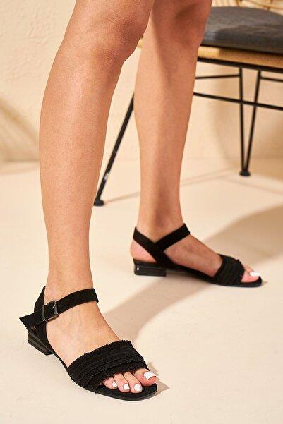 Louis Cardy Kadın Emily Hakiki Deri Sandalet